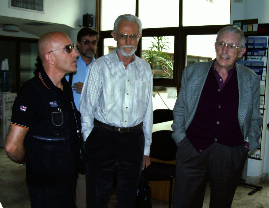 Briefing alla EMHA con Z. Bronfman e E. Candegabe