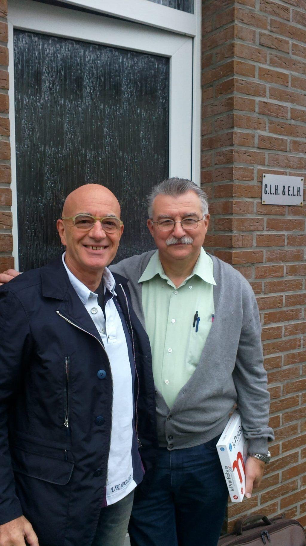 Con Marc Brunson a Esneux