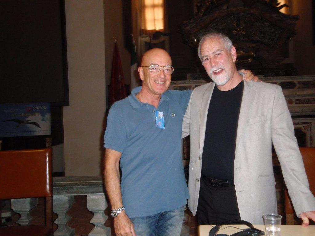 A Cortona con Roger Morrison