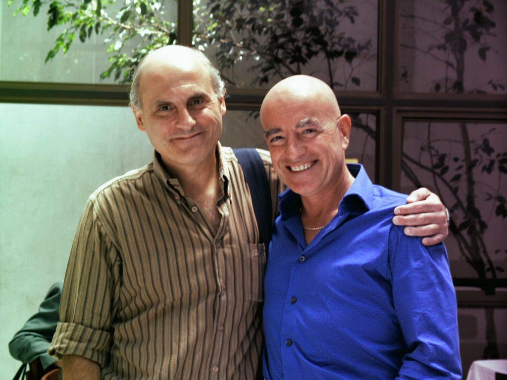 Con Gustavo Cataldi alla EMHA