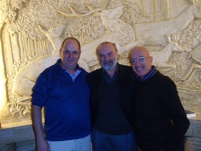 Con J.Sherr e M. Candegabe al 20° CLH