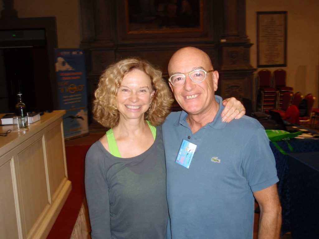 Nancy Herrick a Cortona