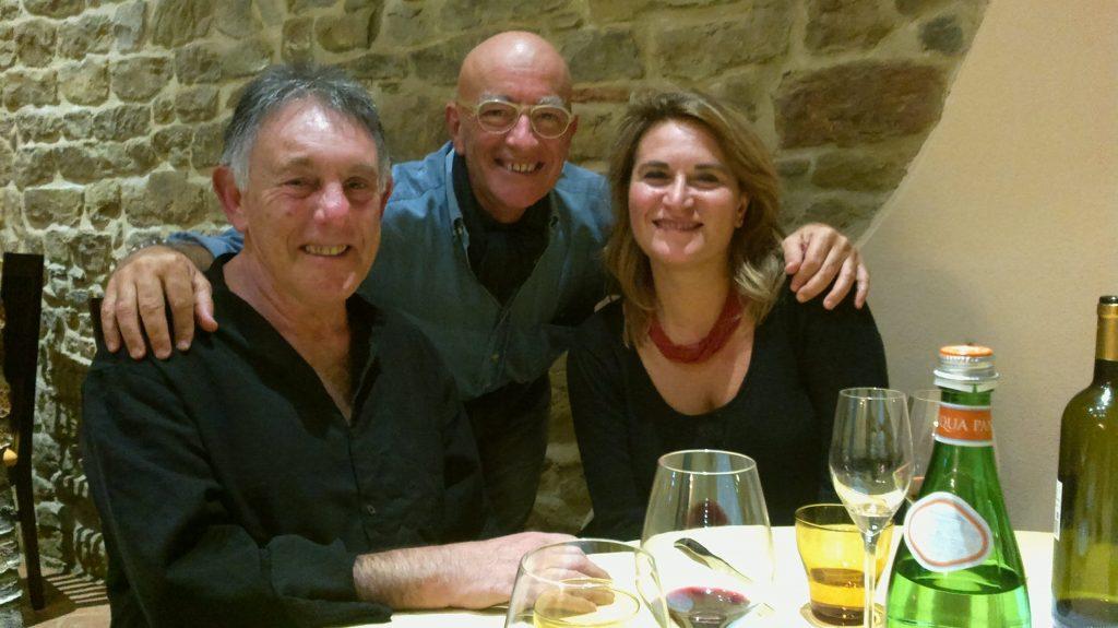 A Cortona con Jonathan Shore e l'impareggiabile Gabriella Rammairone